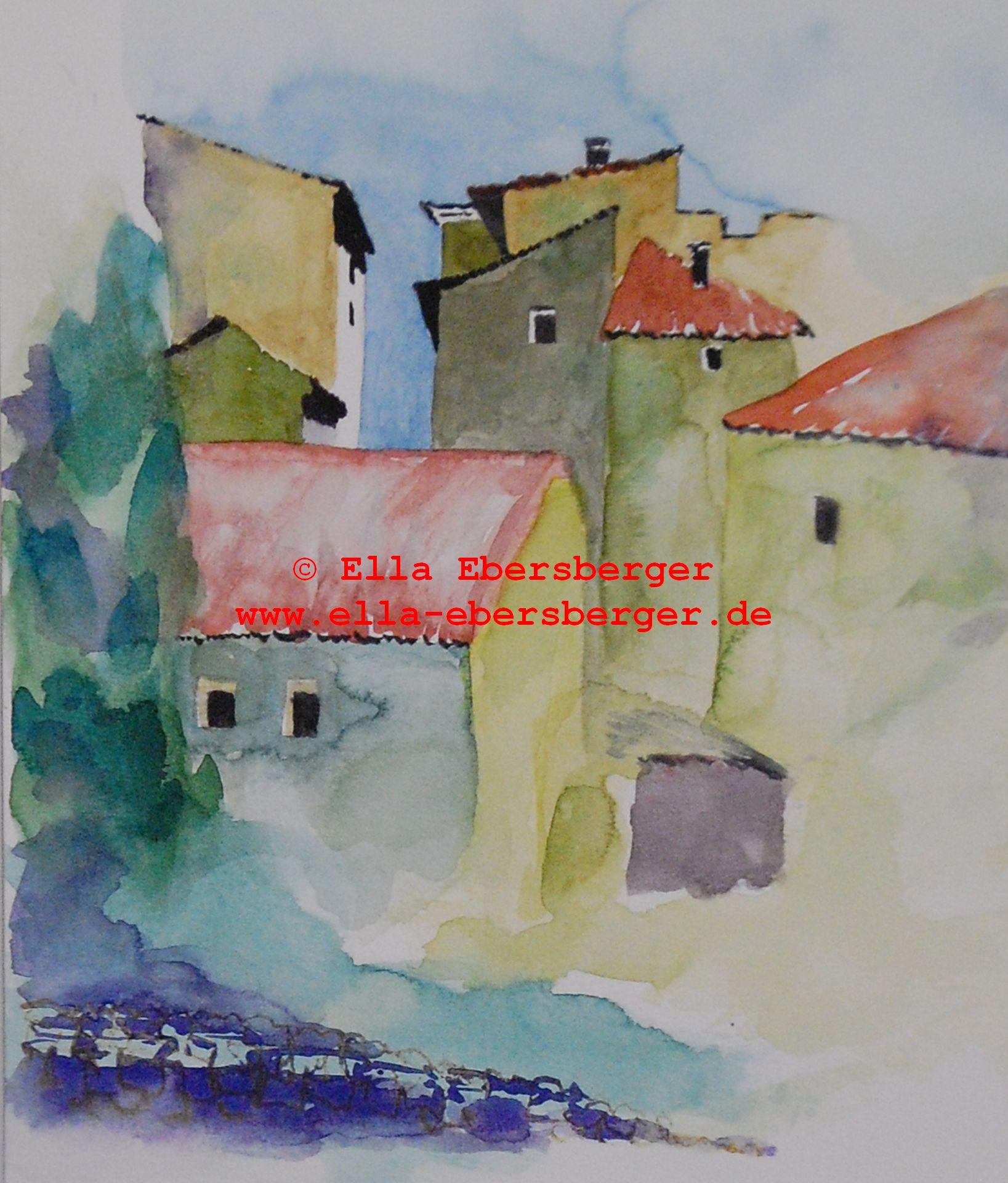 12. Enge Häuser In Saignon