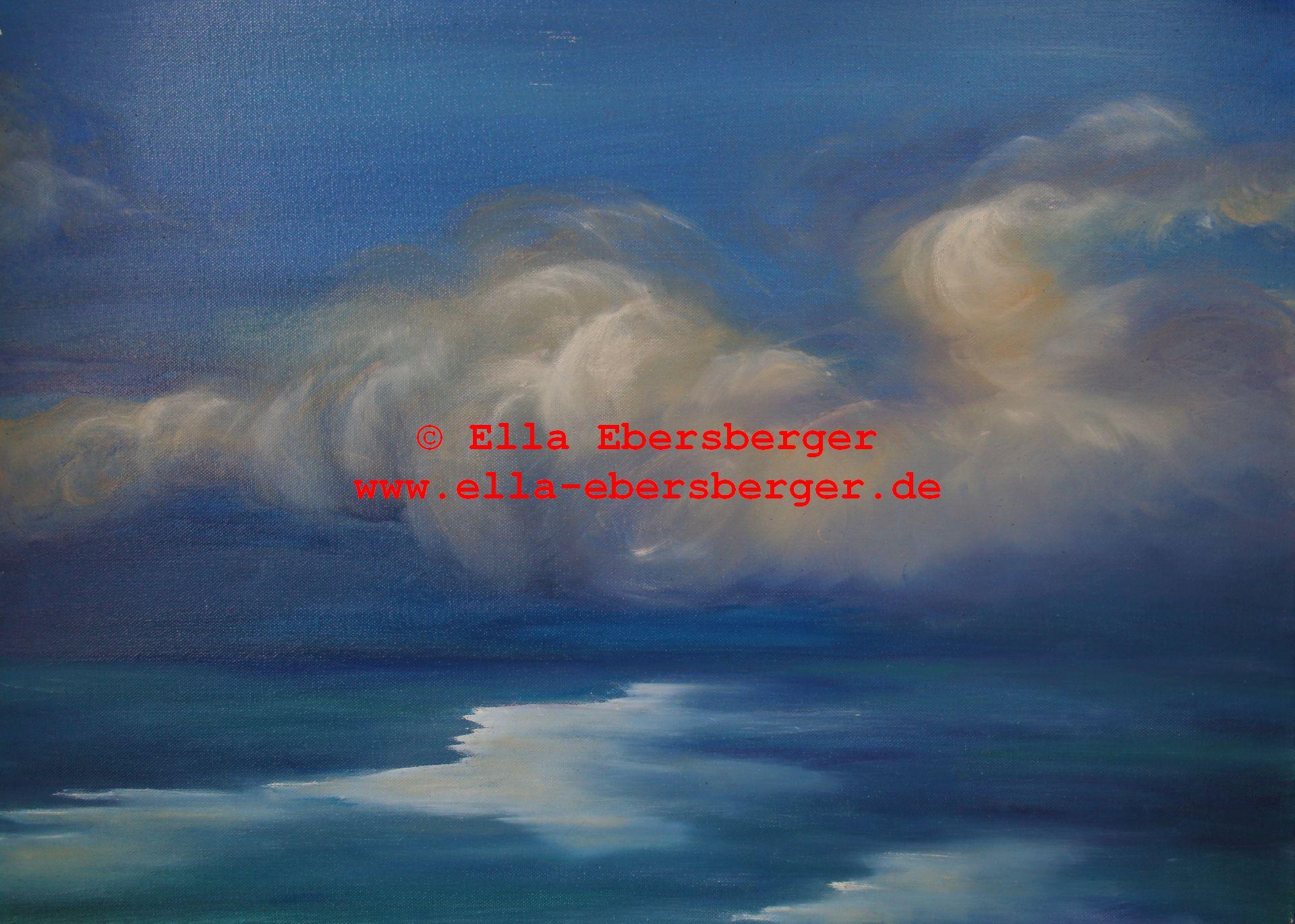2. Blauer Himmel Und Meer