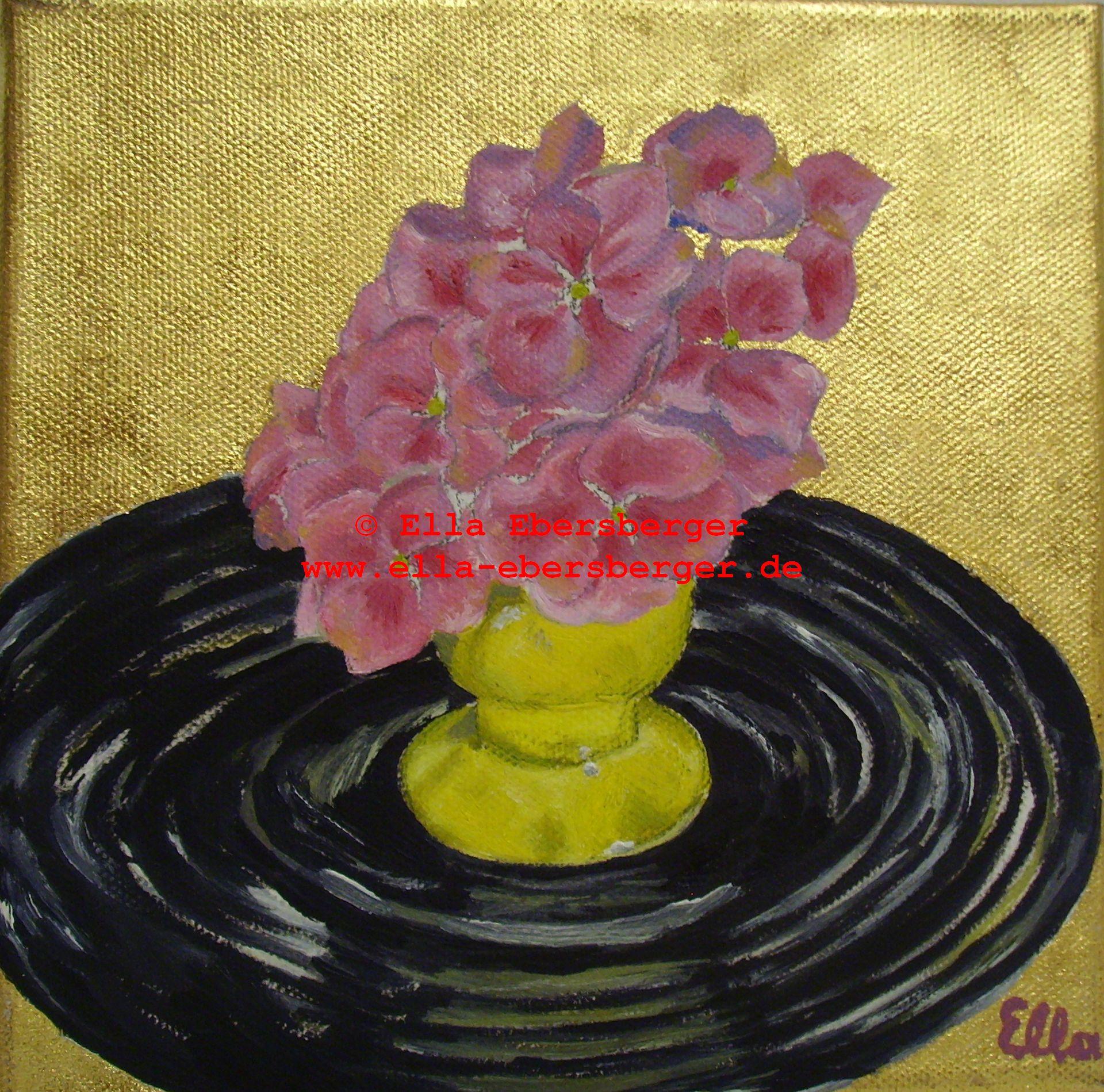 3. Hortensien Gold