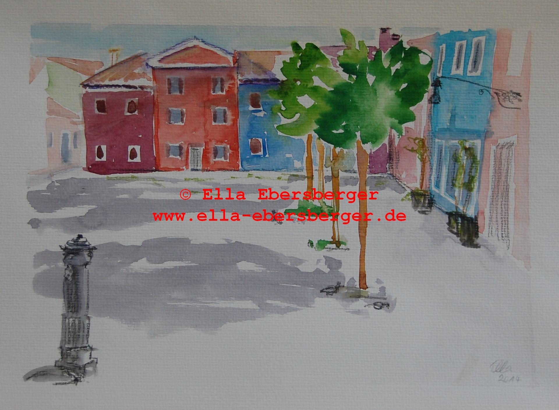 5. Stiller Platz Auf Burano