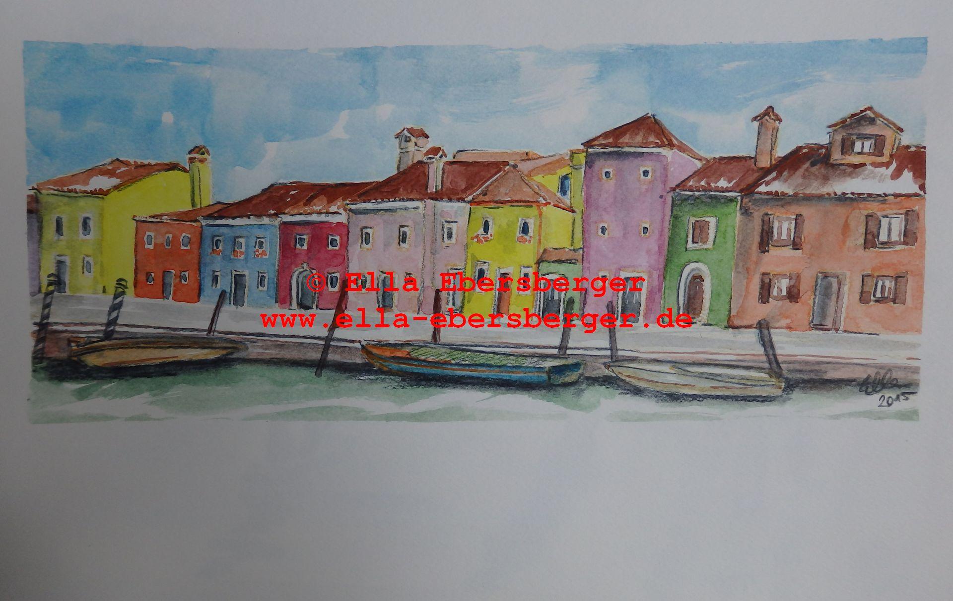 6. Häuser In Burano