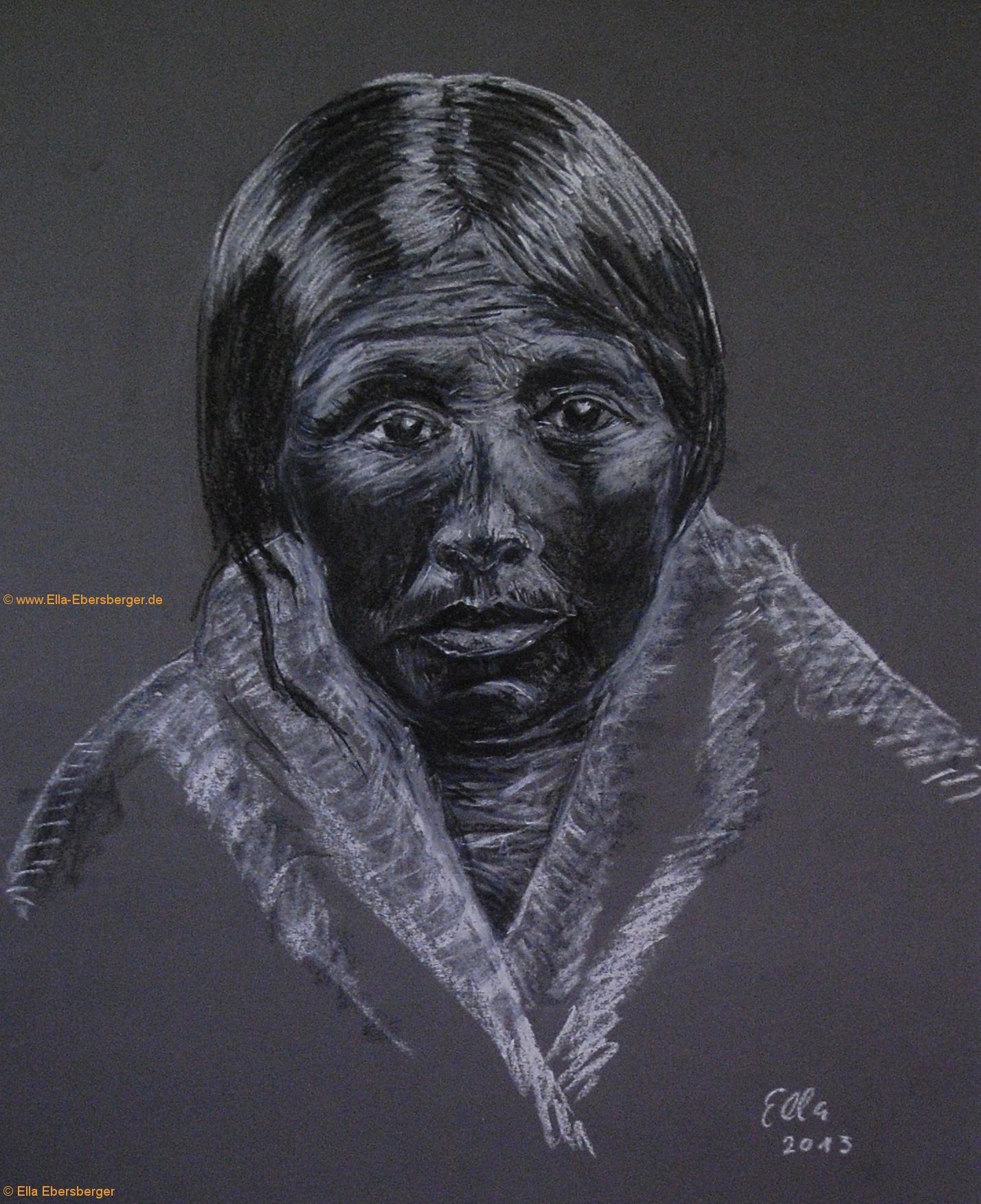 Alte Indianerin