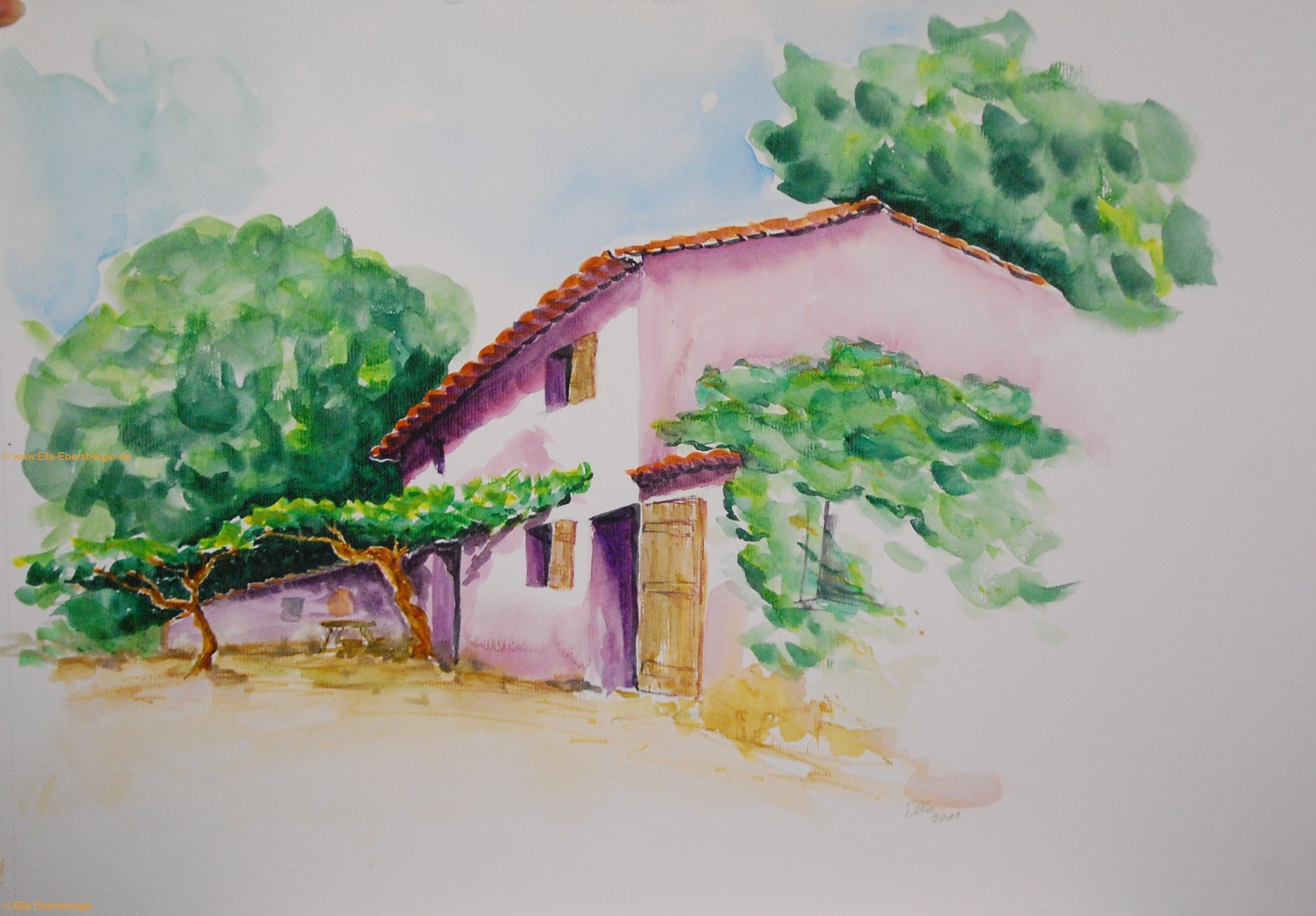 Ferme bei La Castellane
