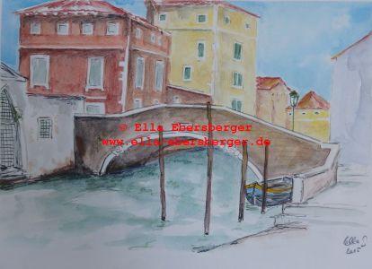 1. Brücke Beim Ospedale In Venedig