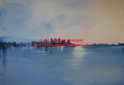 Stadt Zwischen Himmel Und Meer