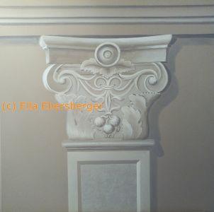 Säulenkapitell, Pilaster